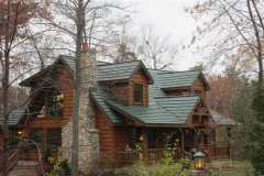 Country Manor Roofing Shingle in Forest Green