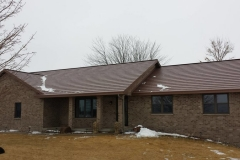Oxford Metal Roofing Shingle in Aged Bronze