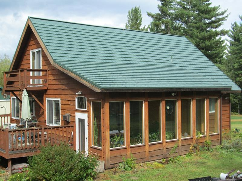 Rustic Shingle American Metal Roofs Wisconsin