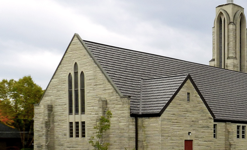 Church Project Gallery American Metal Roofs Wisconsin