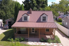 Aluminum Standing Seam in Caramel color