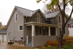 Oxford Metal Roofing Shingle in Pearl Black