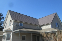 Oxford Metal Roofing Shingle in Mustang Brown