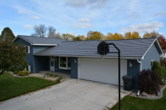 Oxford Metal Roofing Shingle in Deep Charcoal