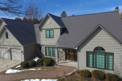 Oxford Metal Roofing Shingle in Shake Gray