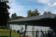 Oxford Metal Roofing Shingle in Vermont Slate color