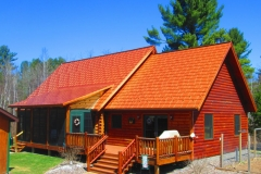 Oxford Metal Roofing Shingle in Copper Penny