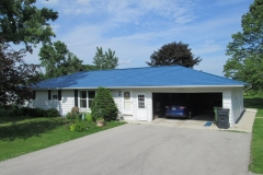 Oxford Metal Roofing Shingle in Seaside Blue