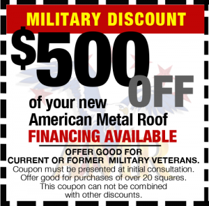 Military Discount $500 off