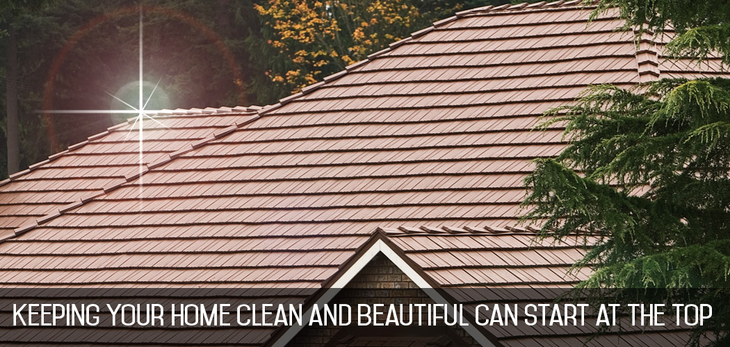 clean metal roofing