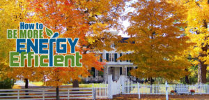 a more energy efficient home