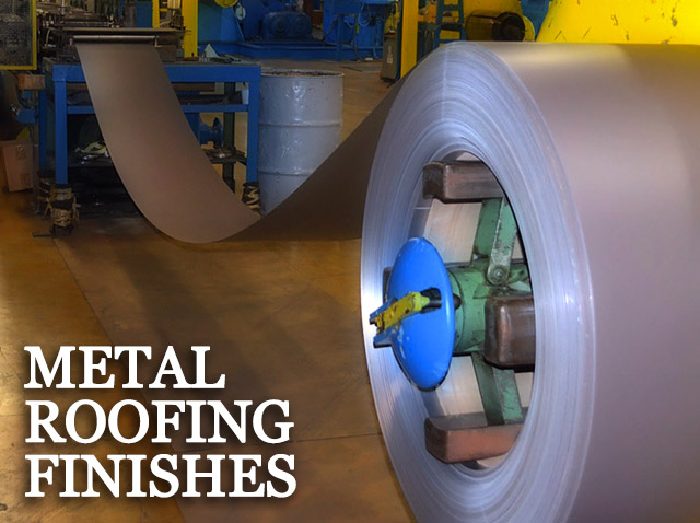 Metal Roofing Finishes - American Metal Roofs of WI