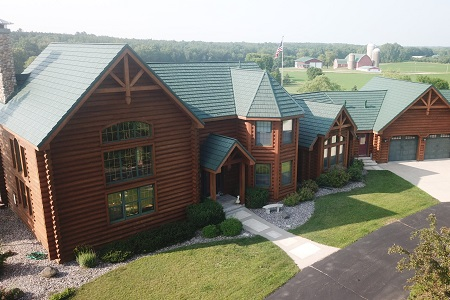 Log Cabin Roof