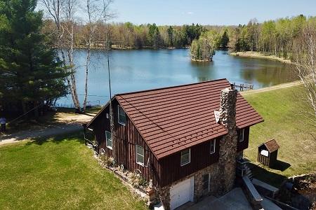 House on a lake